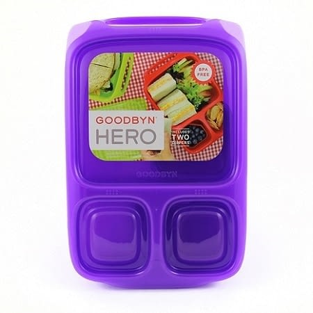 Goodbyn Hero Lunchbox Purple