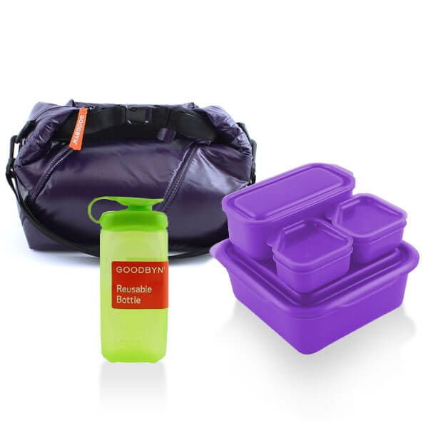 Goodbyn School Lunch Set Purple