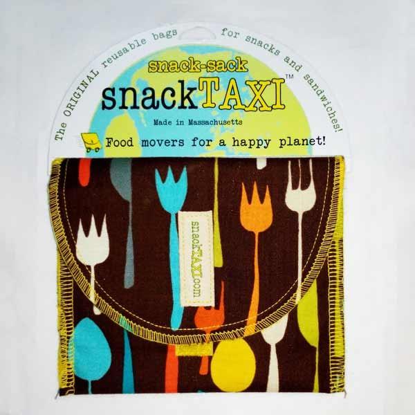 Reusable Snack Bag Metro Cafe